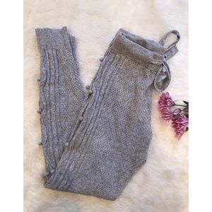 🌙 Anthropologie - E by Eloise Cable Knit Joggers